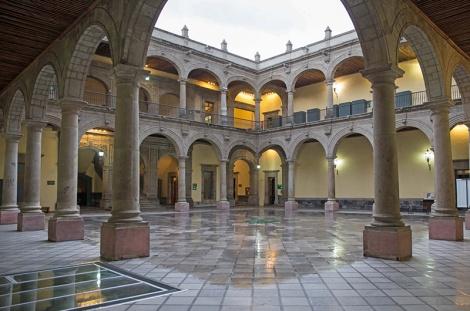 El Antiguo Palacio de la Escuela de Medicina